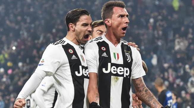 Serie A: Juventus beat Inter 1-0 to open up 11-point lead in table